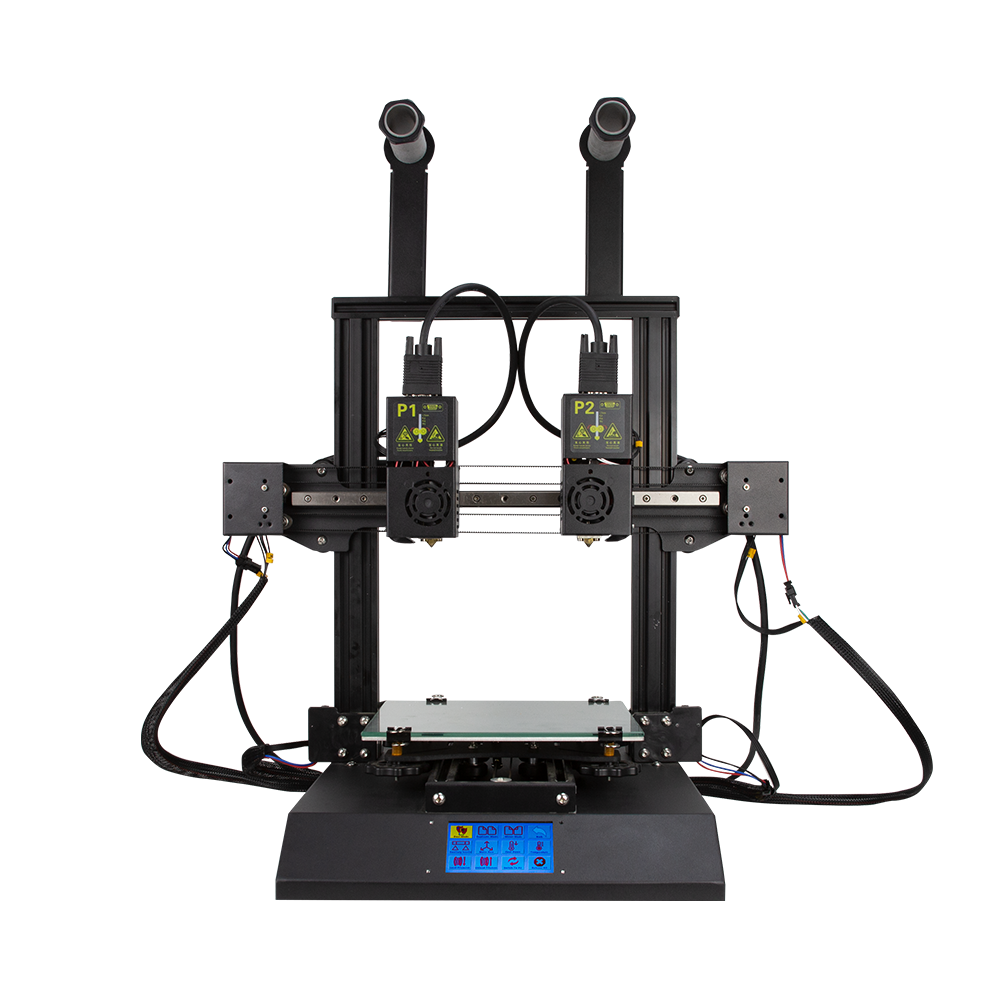 Hands 2 Multi Color 3D Printer Black