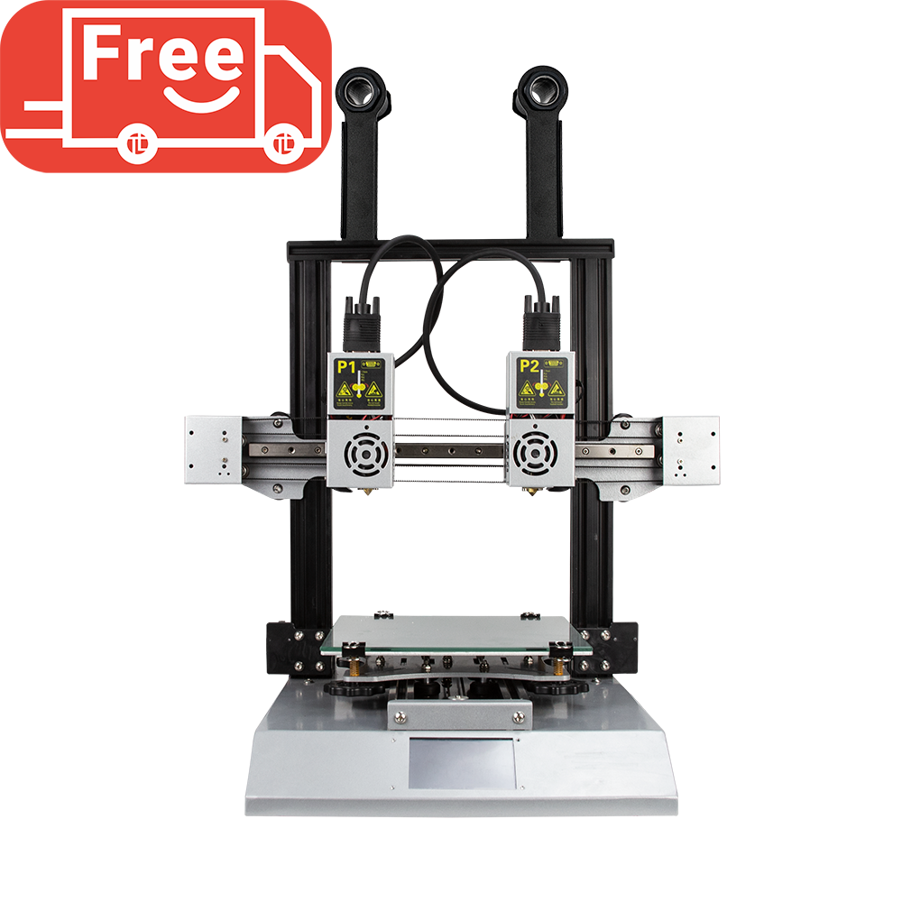 Hands 2 Sliver IDEX 3D Printer